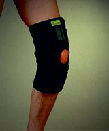 Knee Supporter With Hinge